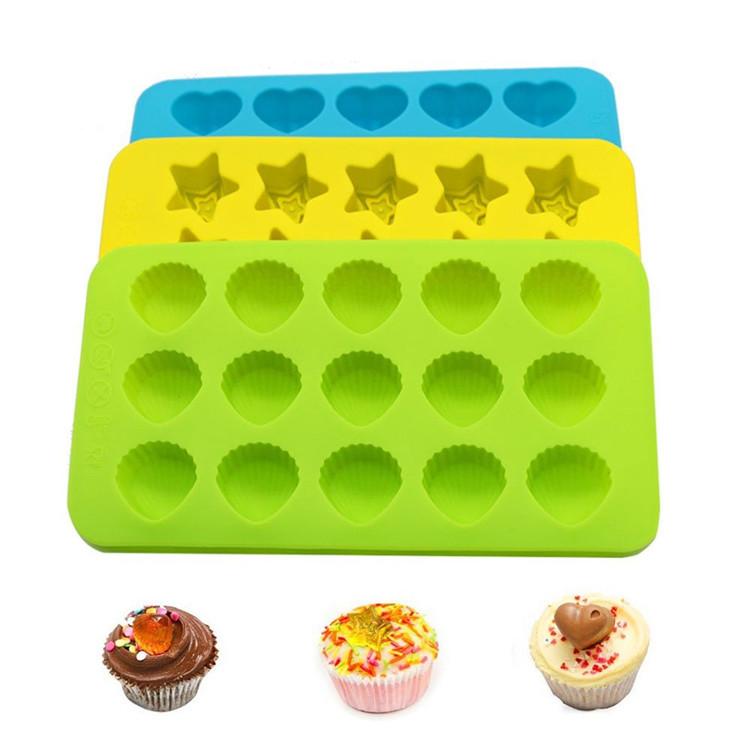 Gâteau Bundt Casseroles /& Gâteau Moule en silicone gâteau gelée silicone moules Set