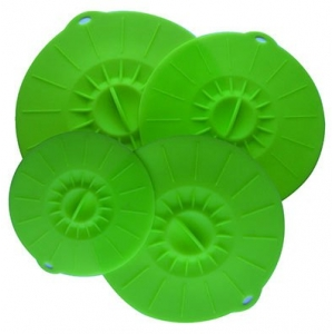 100 % Silicone Suction Lids and Food Covers,Fits Various Sizes of Cups, Bowls, Pans, or Containers