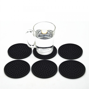 1pc Non-Slip Silicone Drink Coaster mat ,Protect Furniture Against Spills