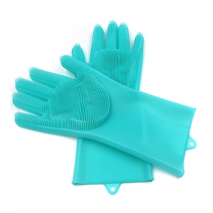 Amazon Hot Selling Reusable Magic Silicone Gloves With