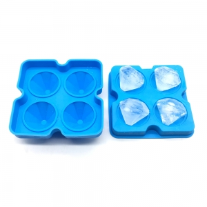 China Supplier Diamond Ice Mold Silicone Diamond Ice Mold