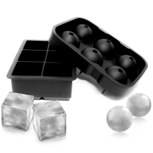 China silicone ice ball maker facroty,FDA silicone ice ball mold manufacturer,BPA free wholesale large silicone ice cube tray supplier
