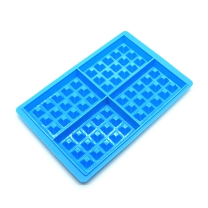 FDA Approved Silicone Waffles Cake Mould , DIY Silicone Waffle Mold