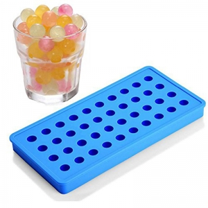Factory Price FDA Silicone 40 Cavity Mini Ice Cube Ice Ball tray Set Wholesale,With optional cover dropper