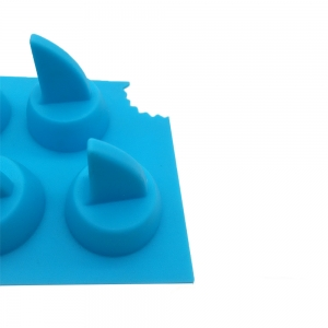 Silicone Shark Fin Ice Mold Suppliers Silicone Ice Cube