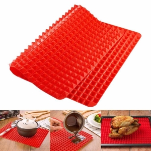 Microwave Oven Baking Tray Kitchen Tool Pyramid Pan silicone baking mat