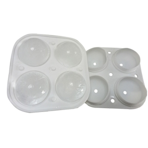 Sphere Ice Maker Ball Molds 4 Ice Mold Round Ice Cubes