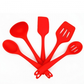 China Best selling Manufacturer Kitchen accessory Silicone Kitchen Utensils Set BPA free factory