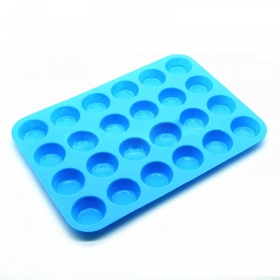 China Factory Direct 24 cup Non-Sticky FDA Silicone Cupcake Carrier, Cupcake tray wholesale factory
