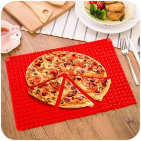 Factory Direct Easy to Clean Microwave Pyramid Silicone baking grilling mat