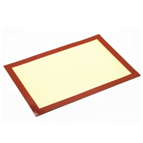 China Factory Direct Premium Custom Silicone Fiberglass bakery sheet,Silicone baking mat Wholesale factory