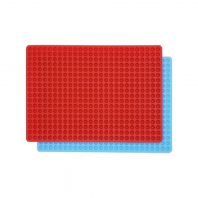 Silicone Baking Mat Cooking Sheets Non-stick Baking Molds For Pets  Fat Reducing Mats