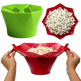 China Silicone Microwave popcorn poppers, popcorn maker, popcorn machine factory