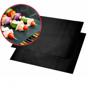 China Wholesale  PFOA Free BBQ Grill Baking Mat,  Heat Resistant Non-stick BBQ Grill Mats for Barbeque factory