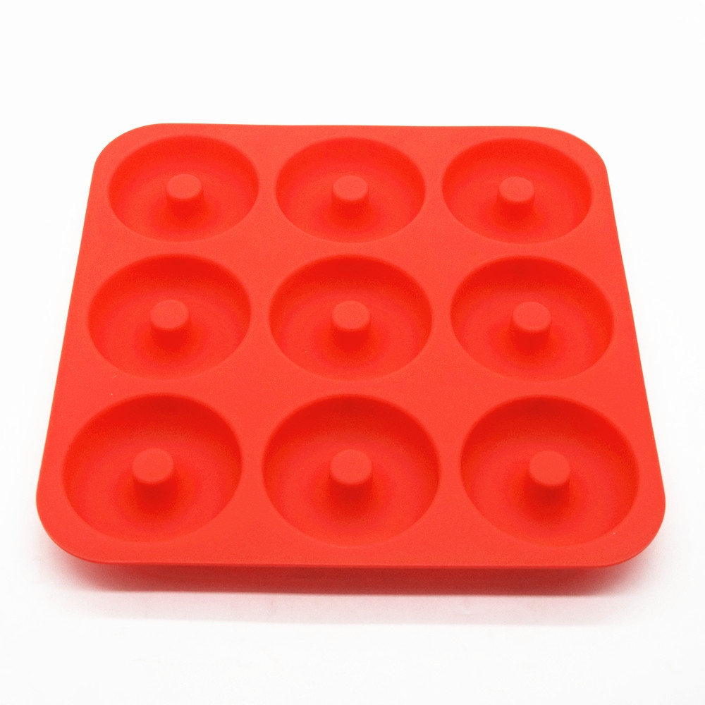 China Silicone Donut Baking Pan Supplier Silicone Dount