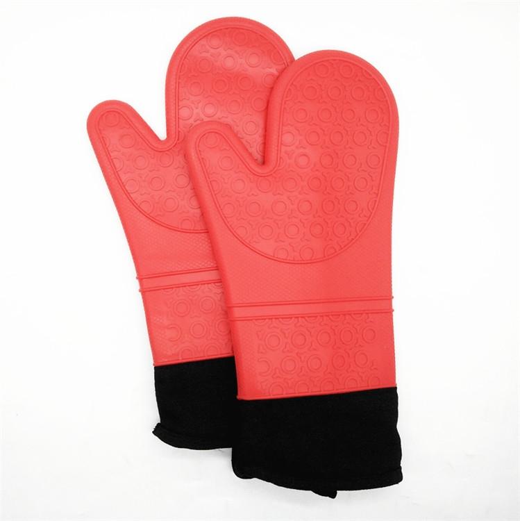 China Manufacturer Silicone Gloves Oven Mitt Supplier