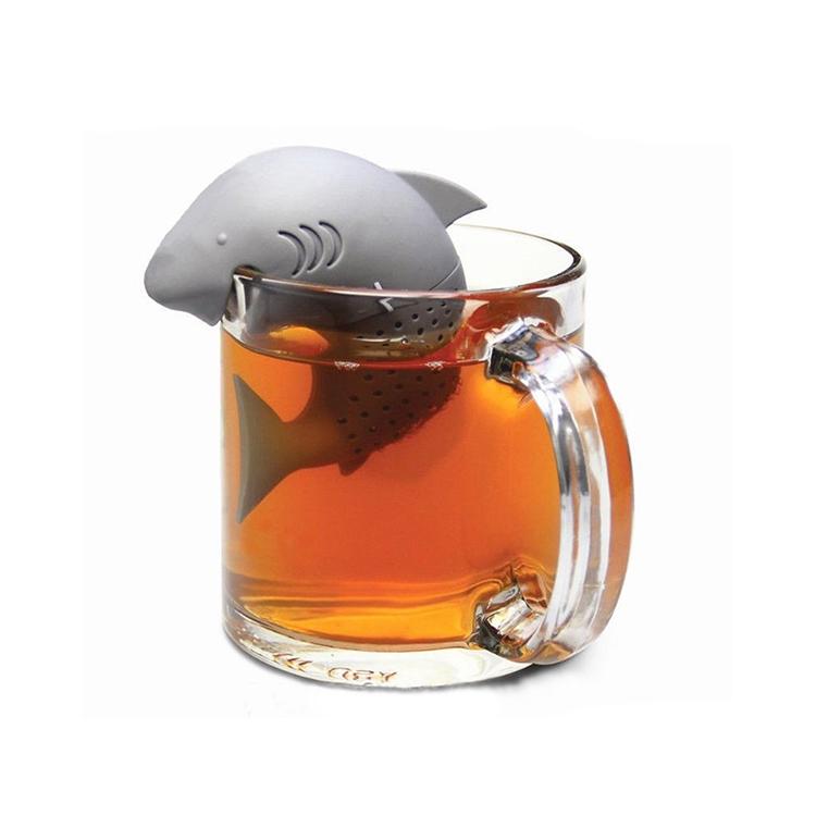 Silicone Shark Tea Infuser Suppliers Silicone Tea
