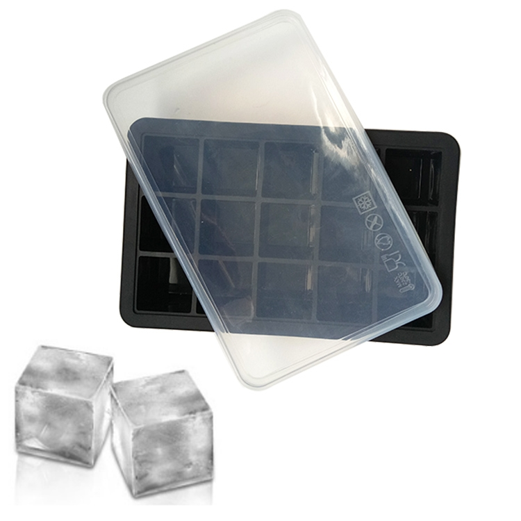 Ice Cube Trays Silicone Large Ice Tray Molds For Making