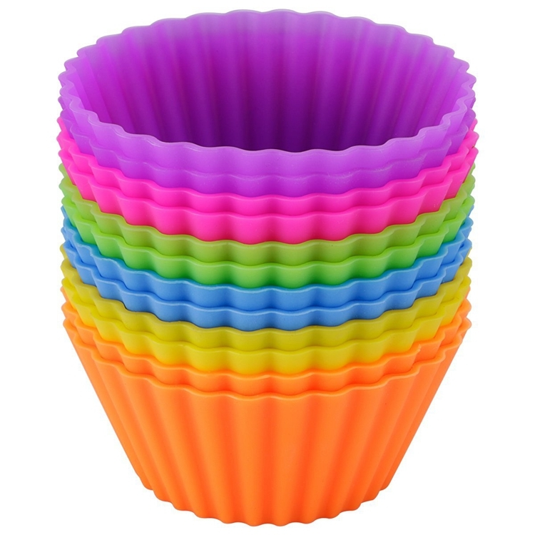 Large Muffin Cups Fda Silicone Baking Cups Manufacturer