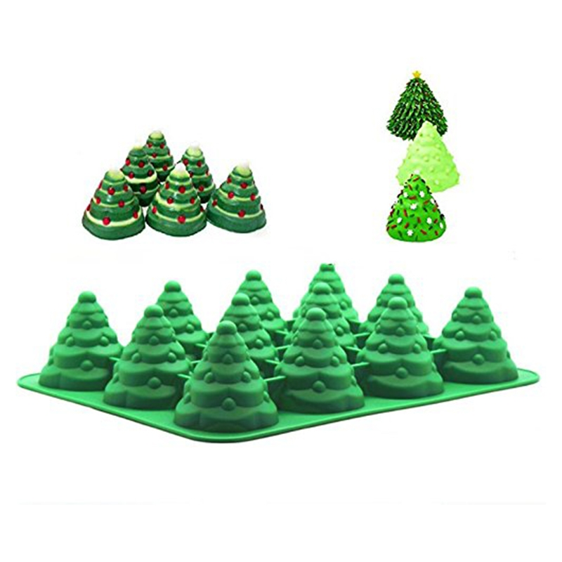 Water And Sugar For Christmas Tree: Silicone Christmas Tree Mold Supplier, Silicone Christmas