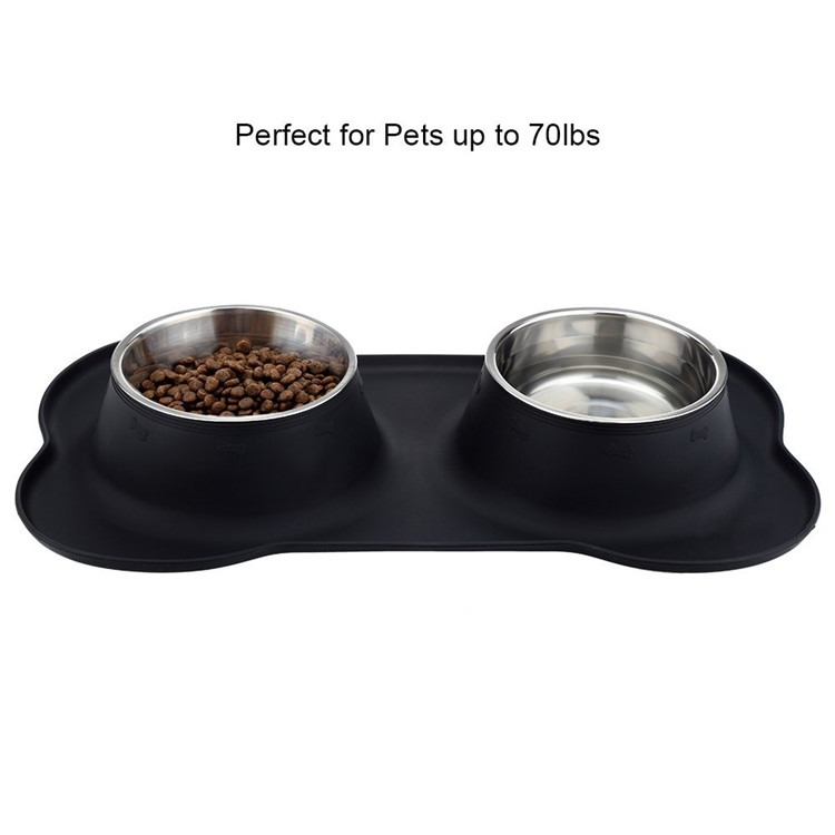 China Manufacturer Pet Dog Bowl Stainless Steel Dog Bowl